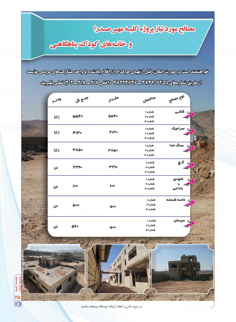 فصلنامه نرجس شیراز تابستان 99 صفحه 25