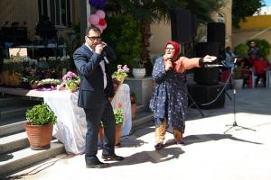 جشن نوروز در مؤسسهی خیریهی نرجس شیراز