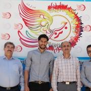 بازدید سید حسین حسینی دروازهبان شیرازی آبیپوشان پایتخت از سرای نرجس