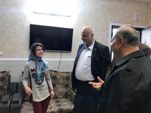 بازدید معاون سابق توانبخشی سازمان بهزیستی استان تهران، از مؤسسهی خیریهي نرجس شیراز