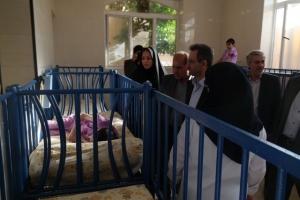 بازدید رئیس محترم سازمان بهزیستی کشور و هیأت همراه از مؤسسهی خیریهی نرجس شیراز